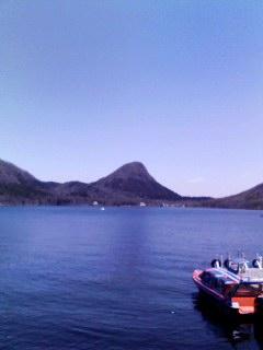 榛名湖に着いた