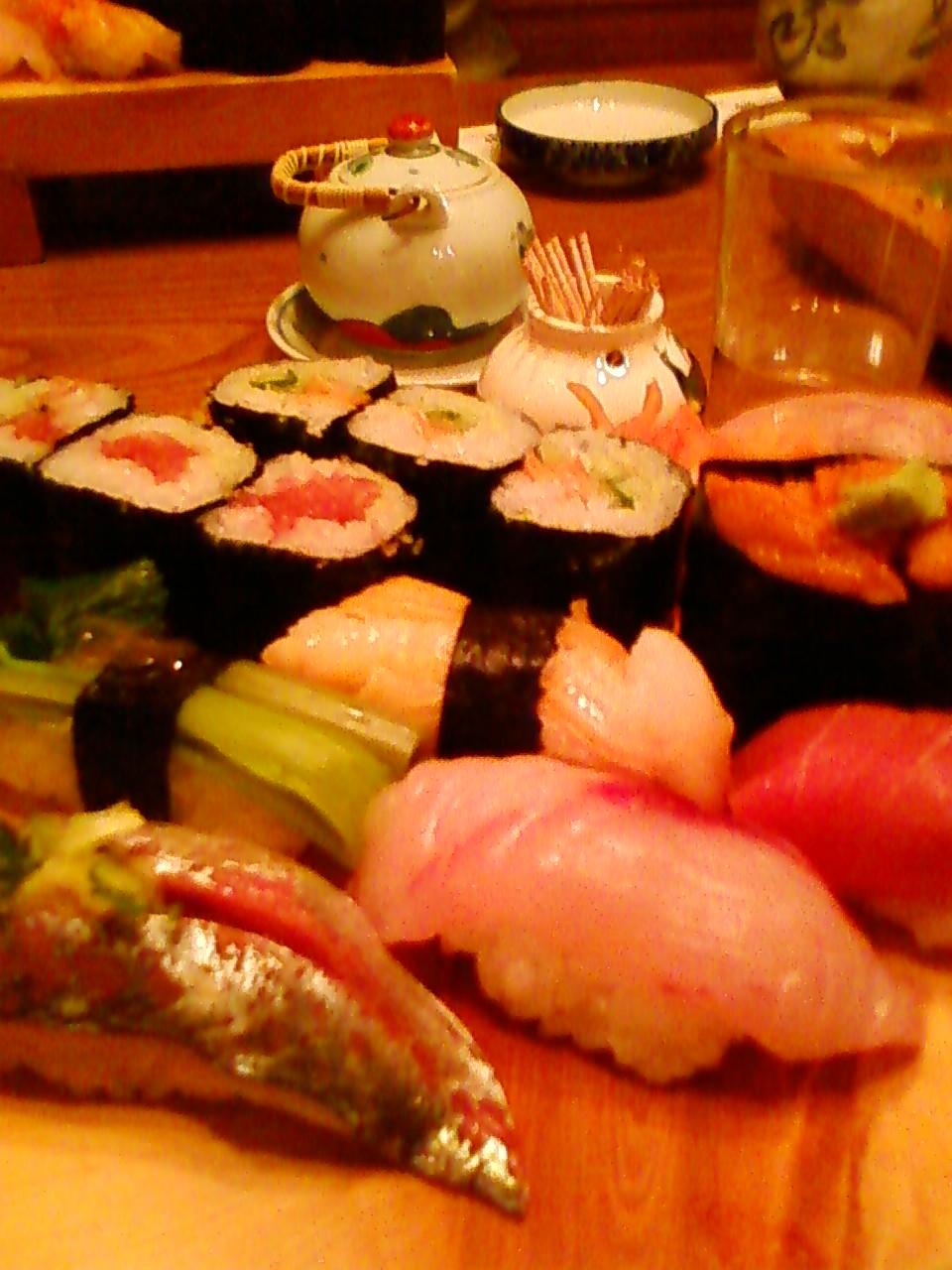 修善寺で寿司やな