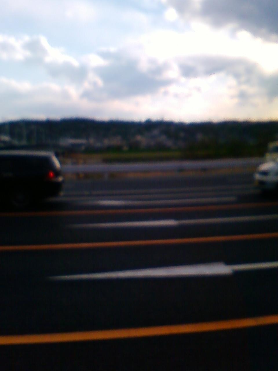 高崎観音前の中山道