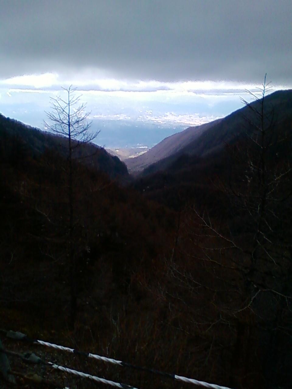 高峰温泉標高2000m