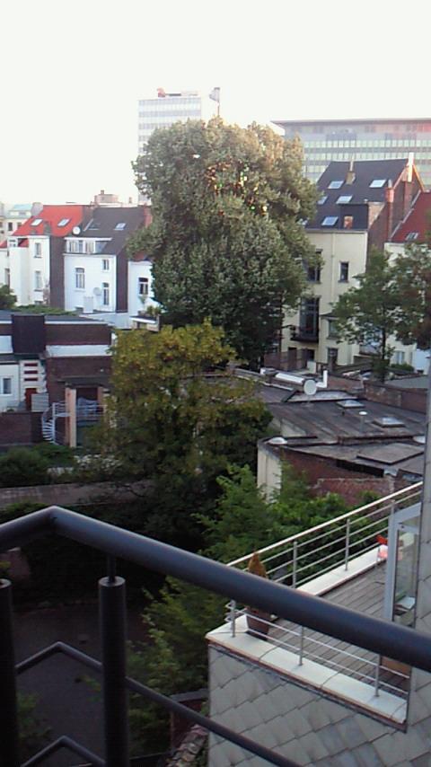 ベルギーの朝