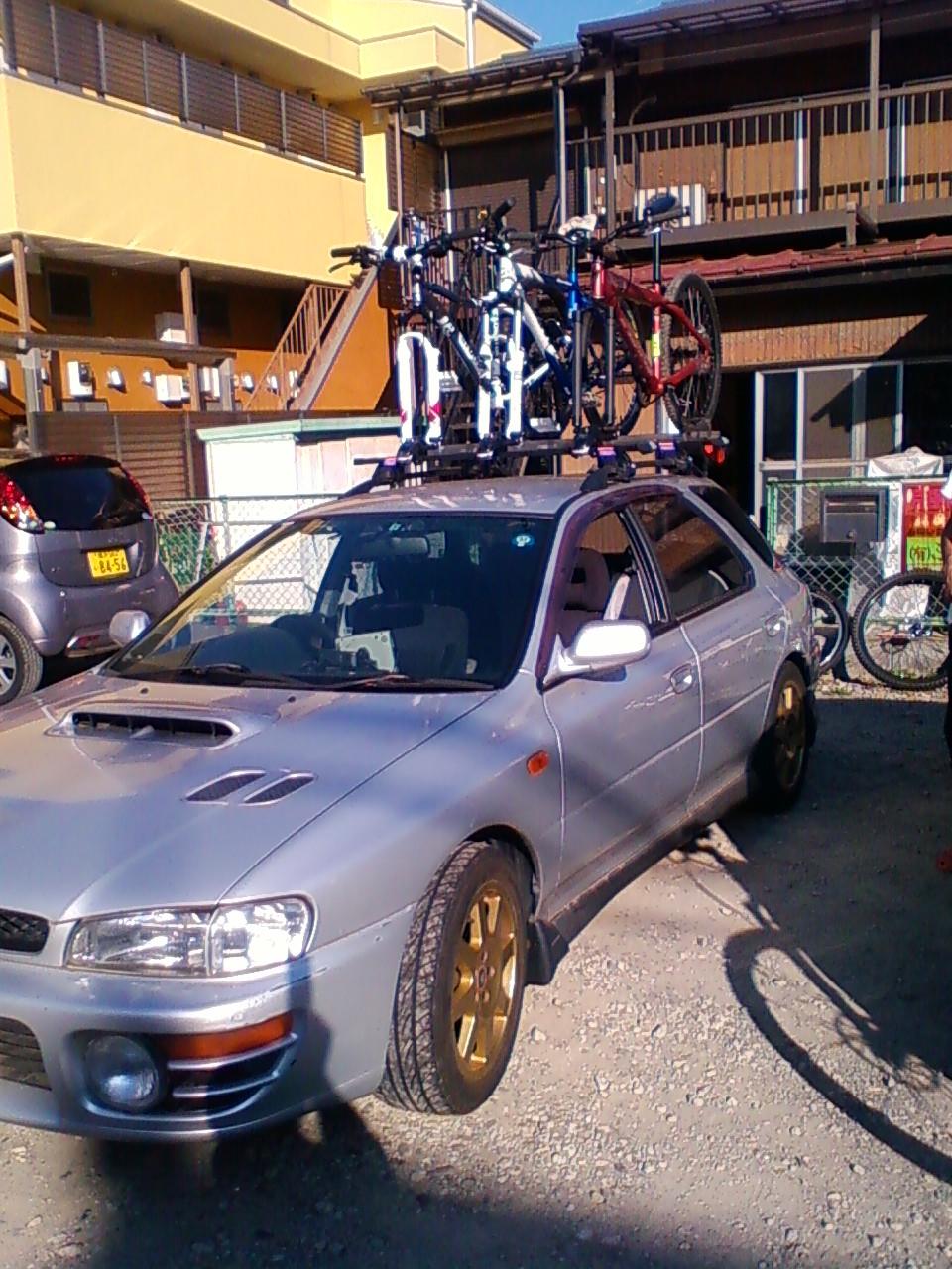 POP自転車トレイルラン