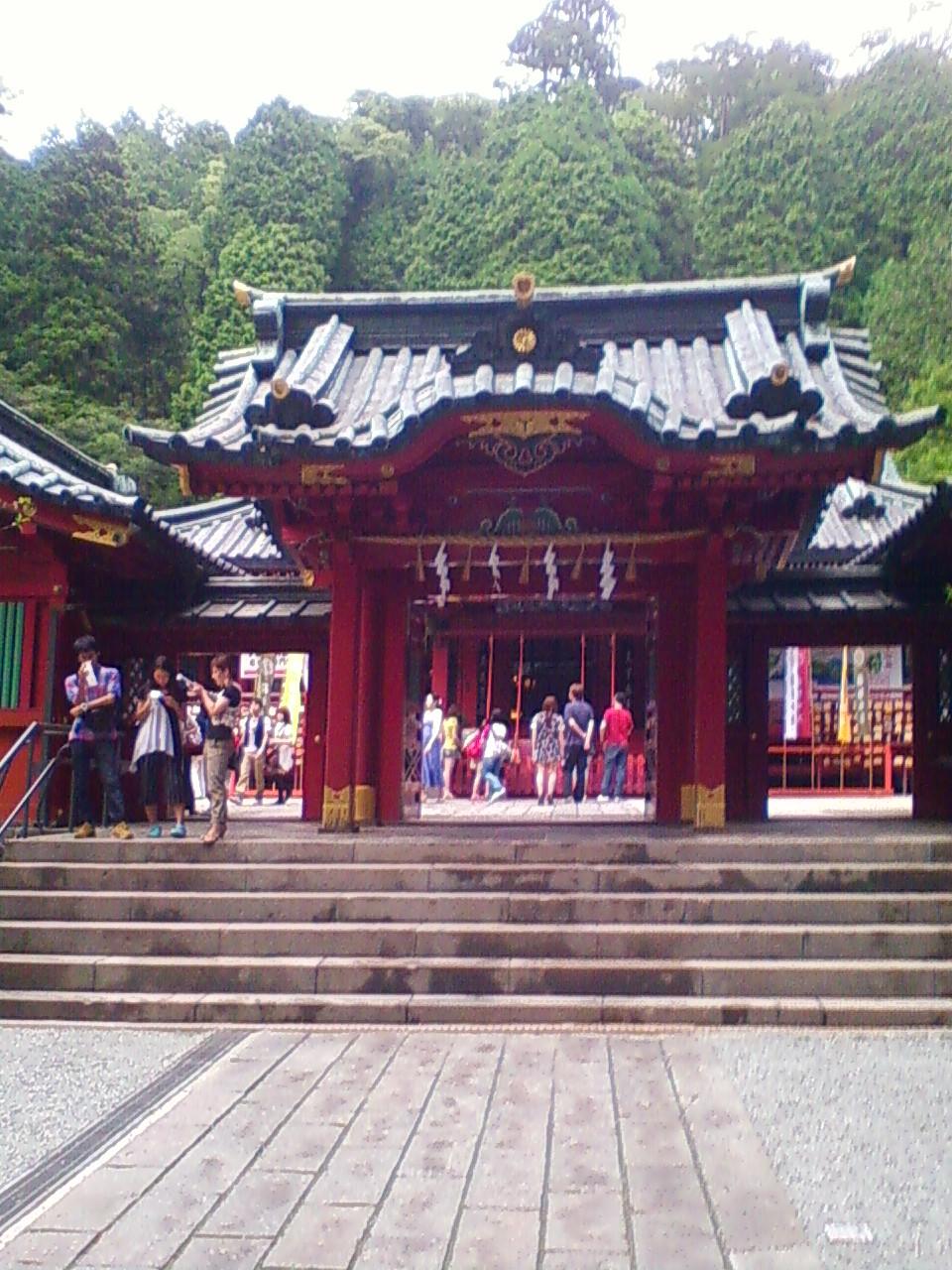 何故か箱根神社