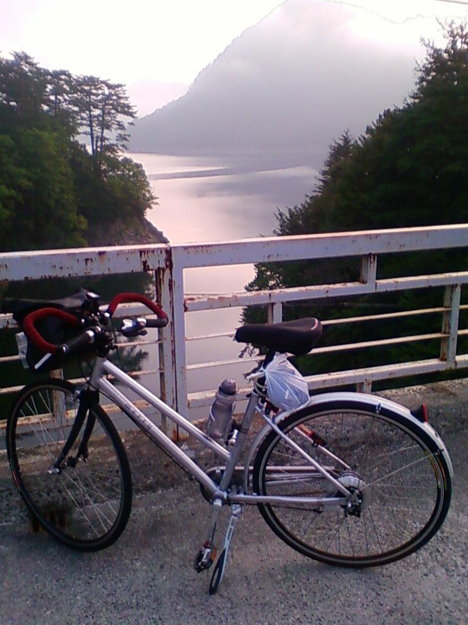 川俣湖到着