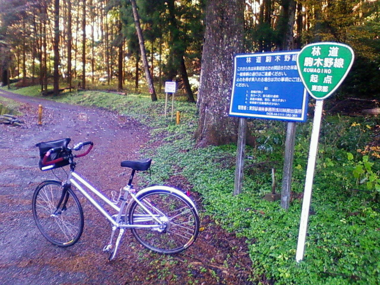 初めてダートの激坂駒木野線