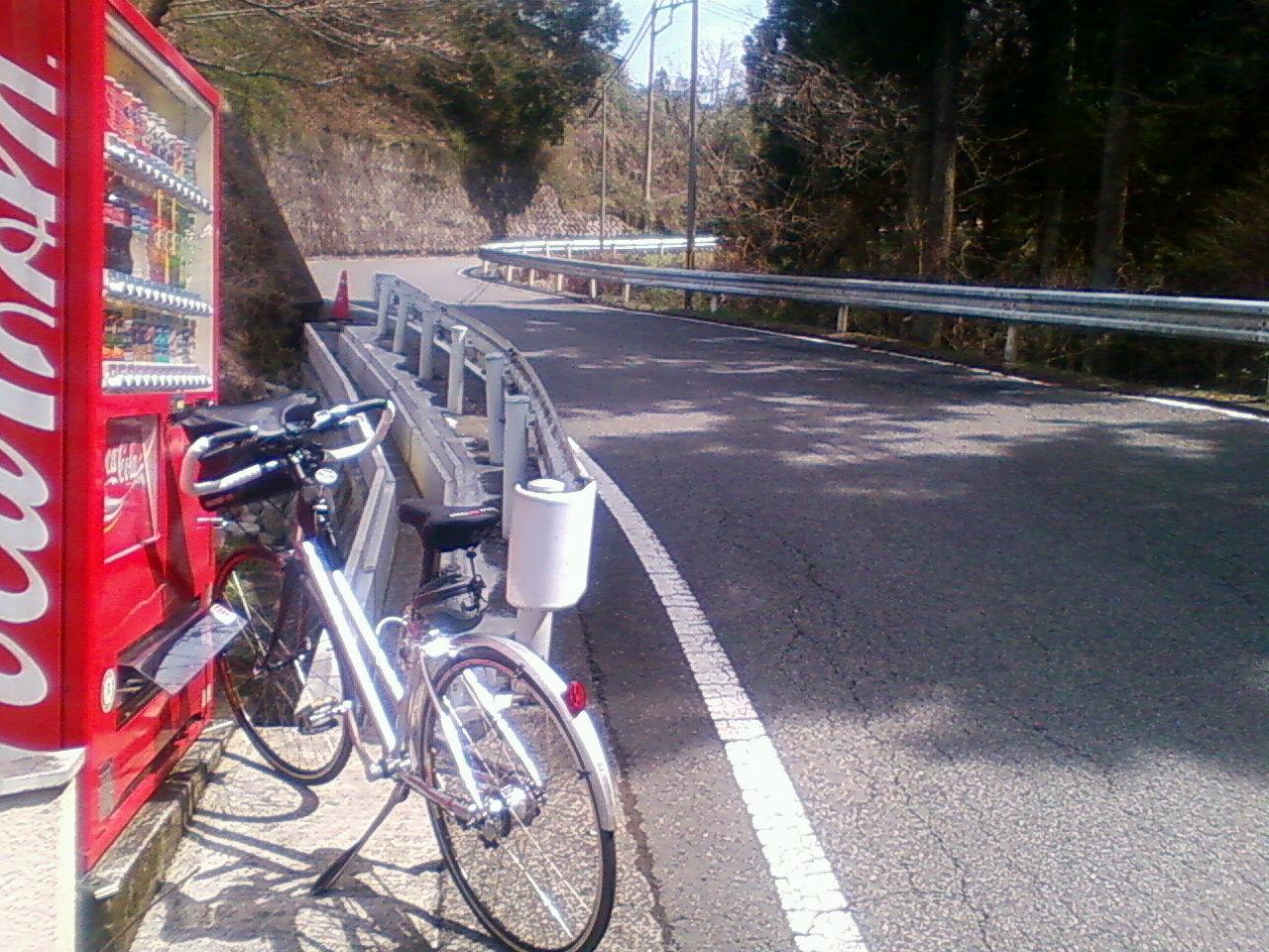 甲武トンネル登って山梨県